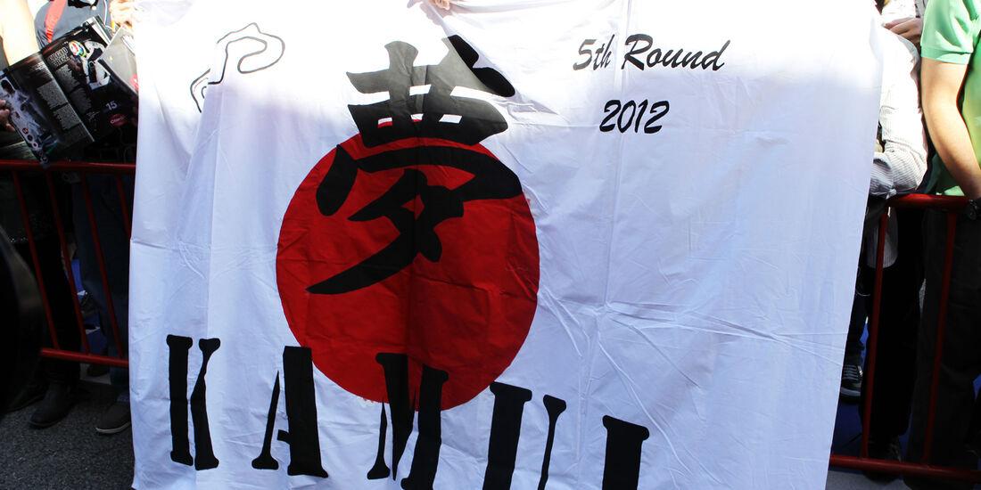 Kobayashi-Fans - GP Spanien - 10. Mai 2012