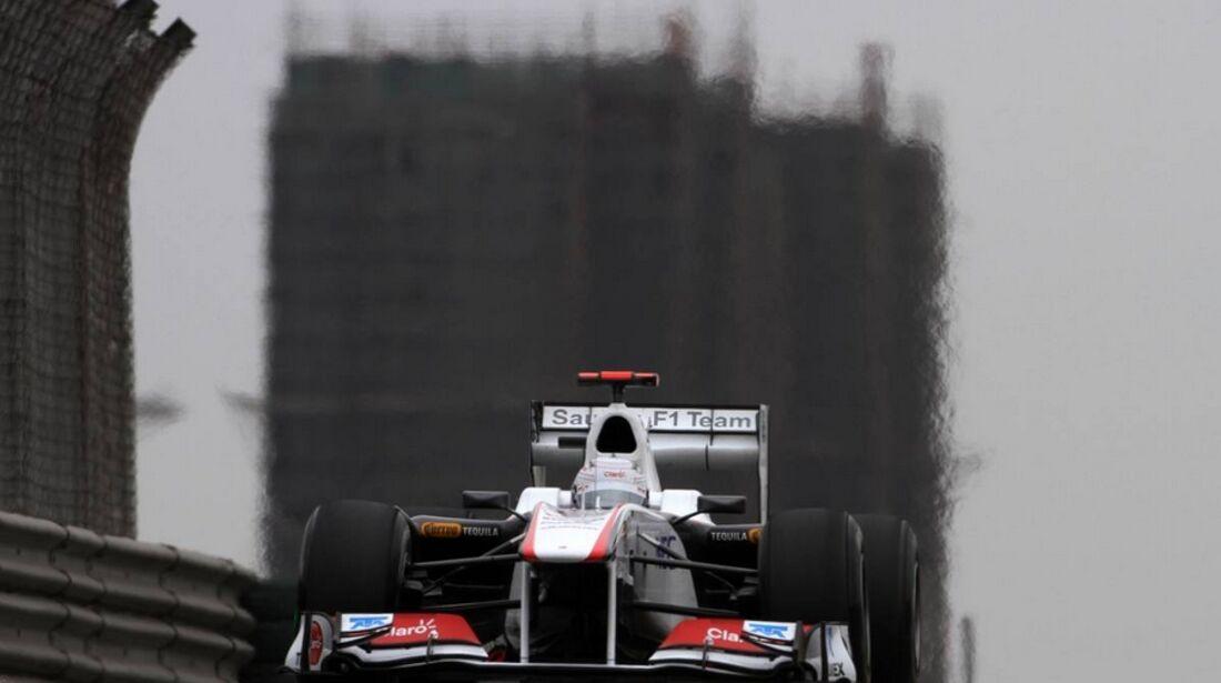 Kobayashi Formel 1 GP China 2011