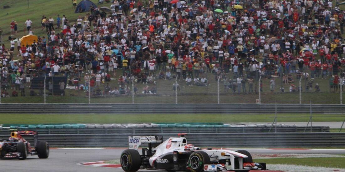 Kobayashi GP Malaysia 2011 Formel 1