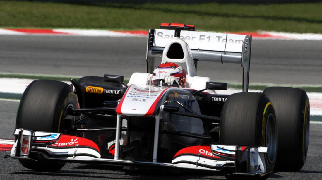 Kobayashi GP Spanien 2011