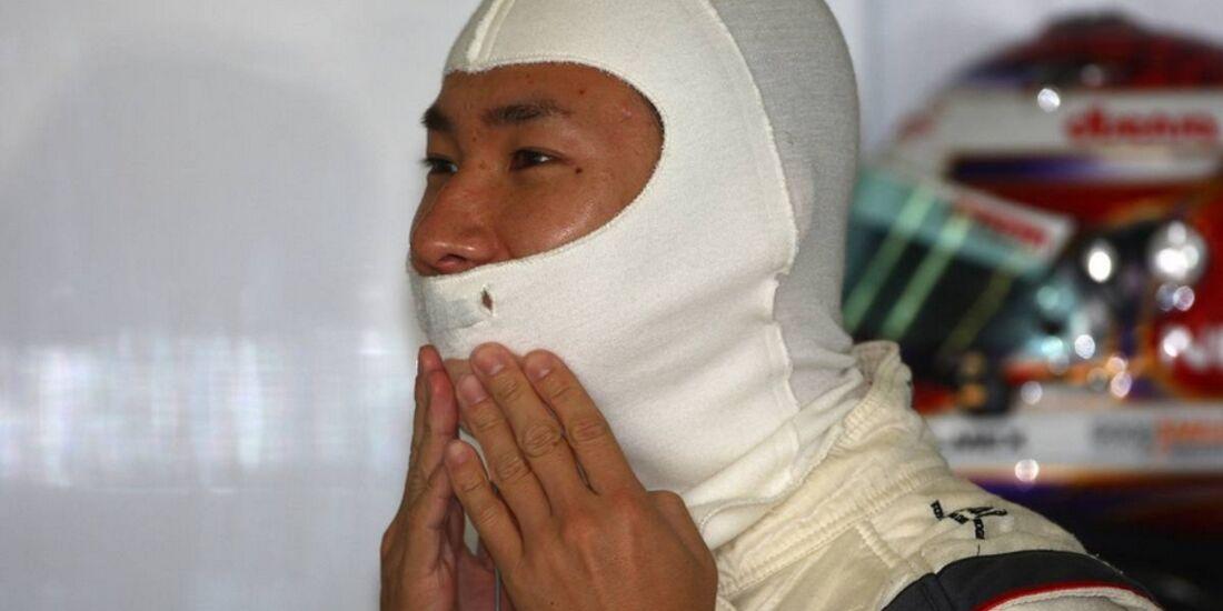 Kobayashi Kehm Formel 1 GP China 2011