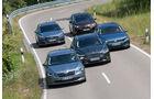 Kombis, Vergleichstest, Alle Fahrzeuge