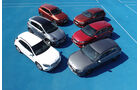 Kompakt gegen SUV, Vergleich, ams2218