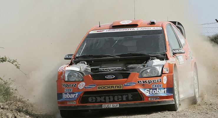 Kopie von Rallye Sardinien 2009, Tag 2, Henning Solberg, Ford Focus WRC