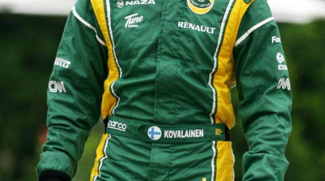 Kovalainen GP Malaysia 2011 Formel 1