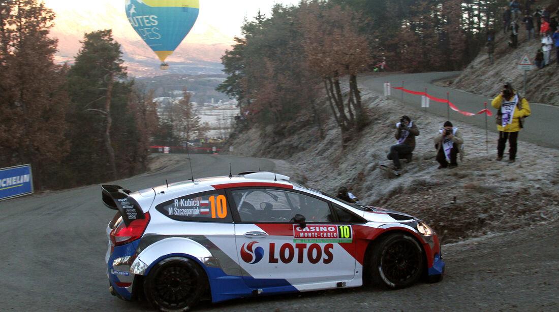 Kubica - Rallye Monte Carlo 2014