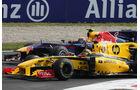 Kubica vs. Webber
