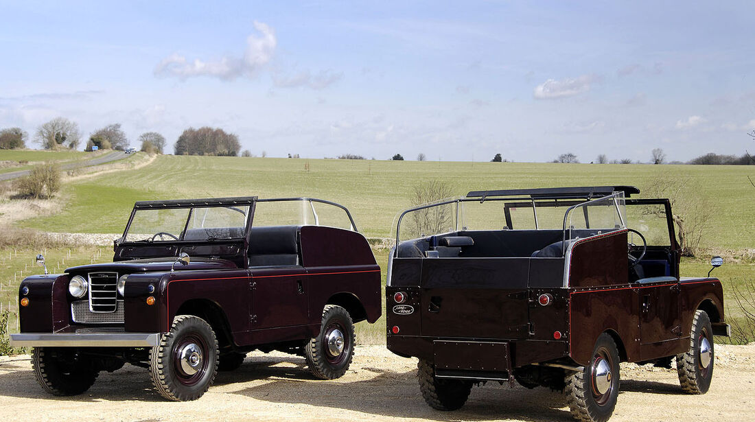LR Heritage Royal Review Vehicles
