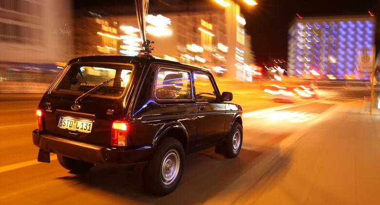 Lada 4x4 Urban, Heckansicht