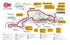 Lageplan Eifelrennen 2010