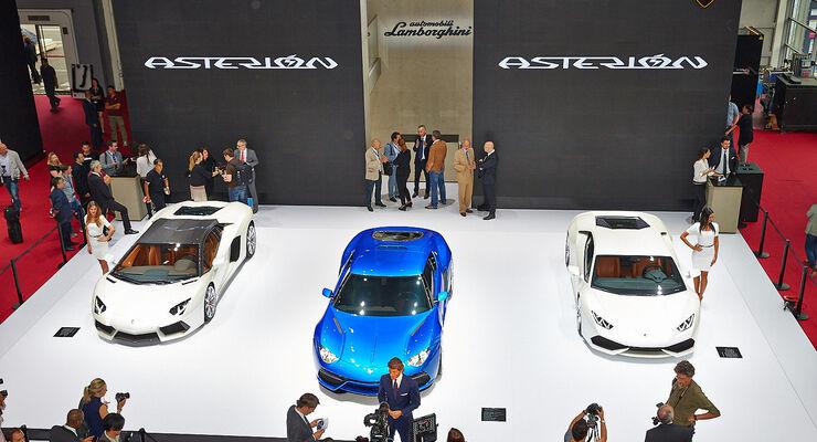 Lamborghini Asterion Sitzprobe