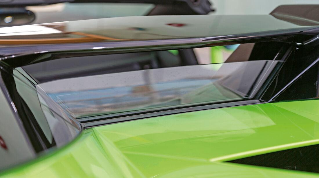 Lamborghini Aventador LP 700-4 Roadster, Scheibe, versenken