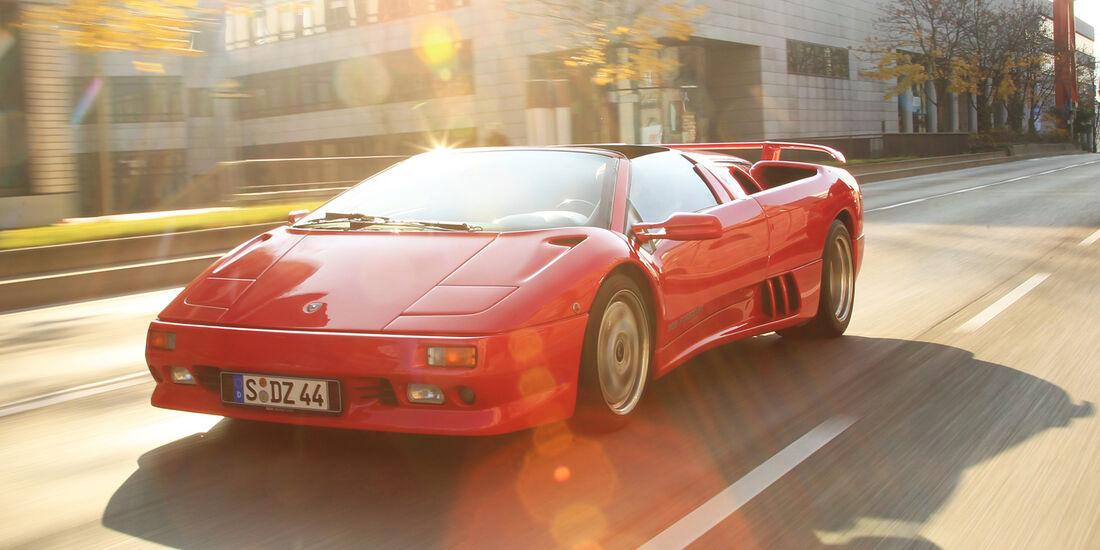 Lamborghini Diablo Vt Roadster Im Fahrbericht Schnell Wie Der