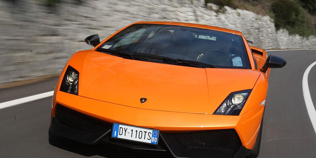 Lamborghini Gallardo LP 570-4 Superleggera - Frontansicht