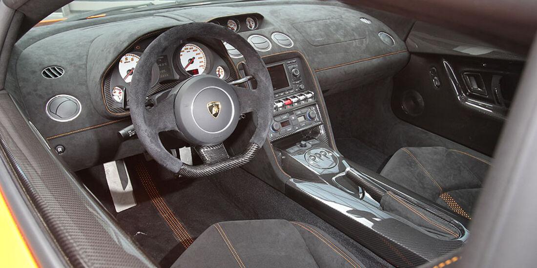 Lamborghini Gallardo LP 570-4 Superleggera Innenraum