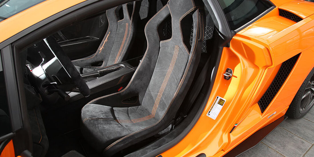 Lamborghini Gallardo LP 570-4 Superleggera - Sparco-Sitze