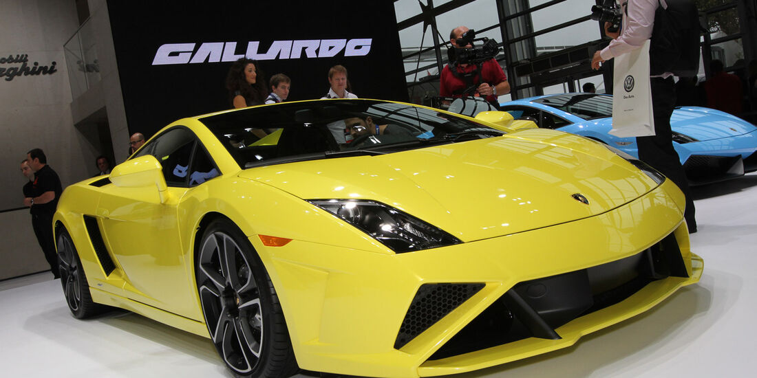 Lamborghini Gallardo LP560-4, Messe, Autosalon Paris 2012