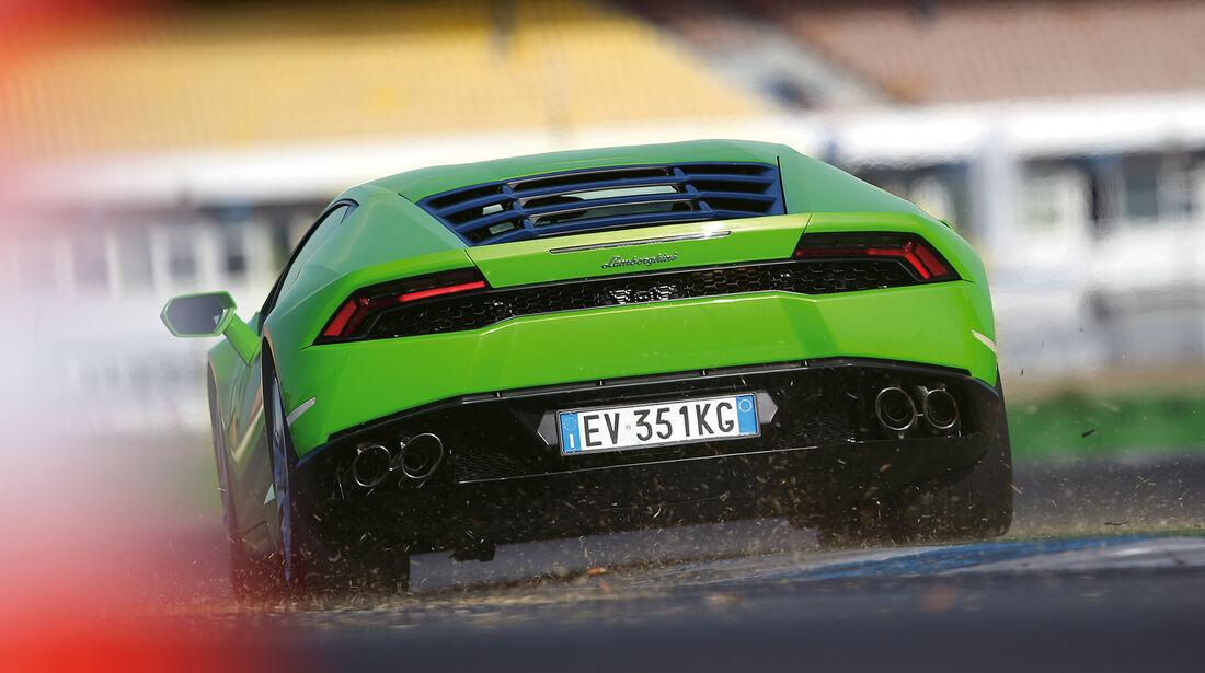 Lamborghini Huracán LP 610-4, Heckansicht