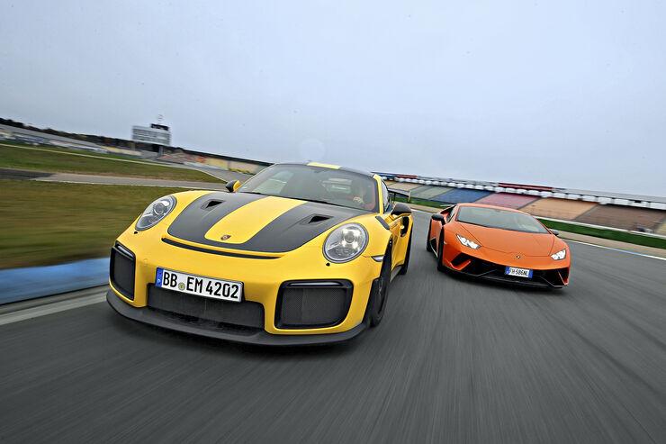 Topliste Beschleunigung 0-100 km/h: 89 Sportwagen unter vier Sekunden