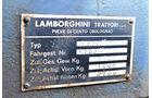 Lamborghini R 503, Schild, Typenschild