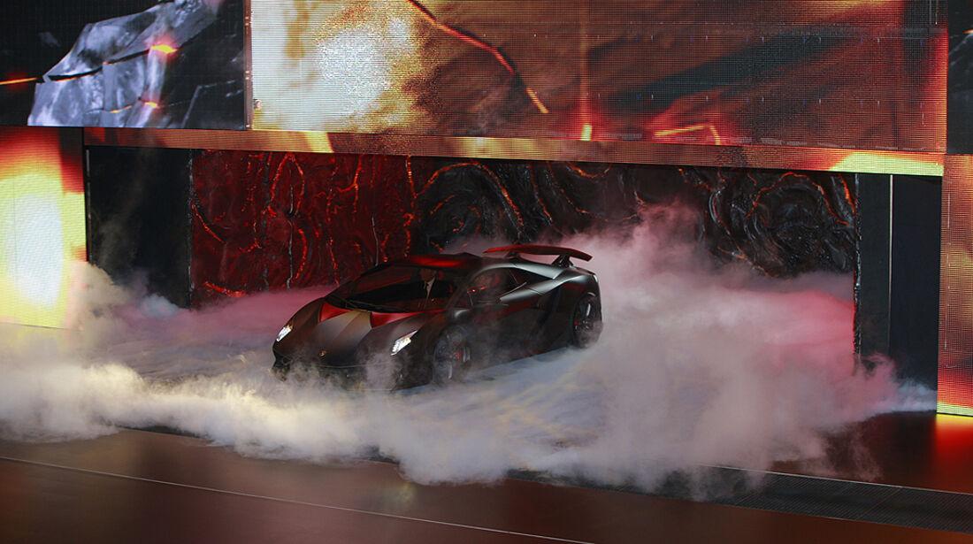 Lamborghini Sesto Elemento, Präsentation