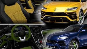 Lamborghini Urus Konfigurator Ergebnisse