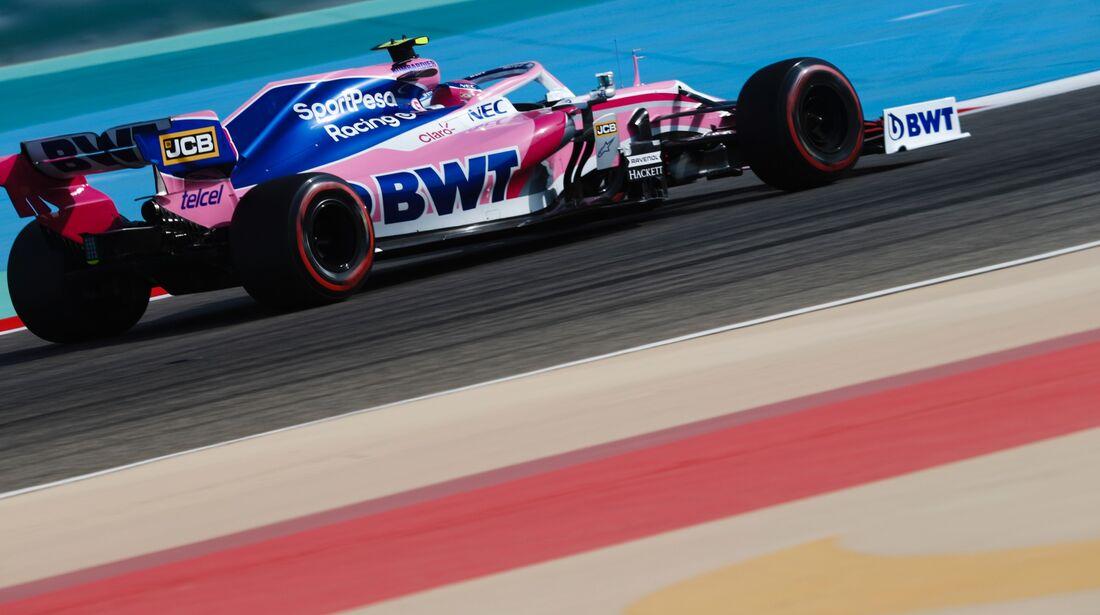 Lance Stroll - Racing Point - Formel 1 - GP Bahrain - 30. März 2019