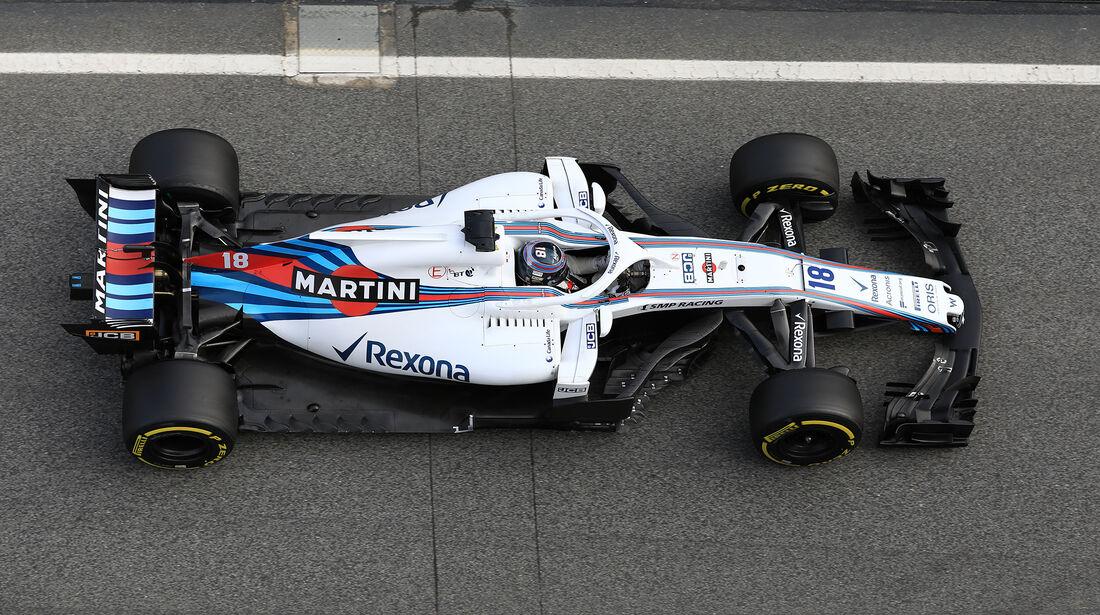 Lance Stroll - Williams - F1-Test - Barcelona - Tag 7 - 8. März 2018