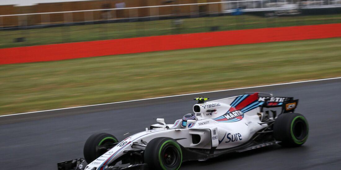 Lance Stroll - Williams - Formel 1 - GP England - 15. Juli 2017