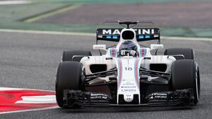 Lance Stroll - Williams - Formel 1 - Testfahrten Barcelona - 28.02.2017