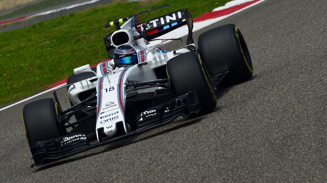 Lance Stroll - Williams -  GP China 2017 - Qualifying - 8.4.2017