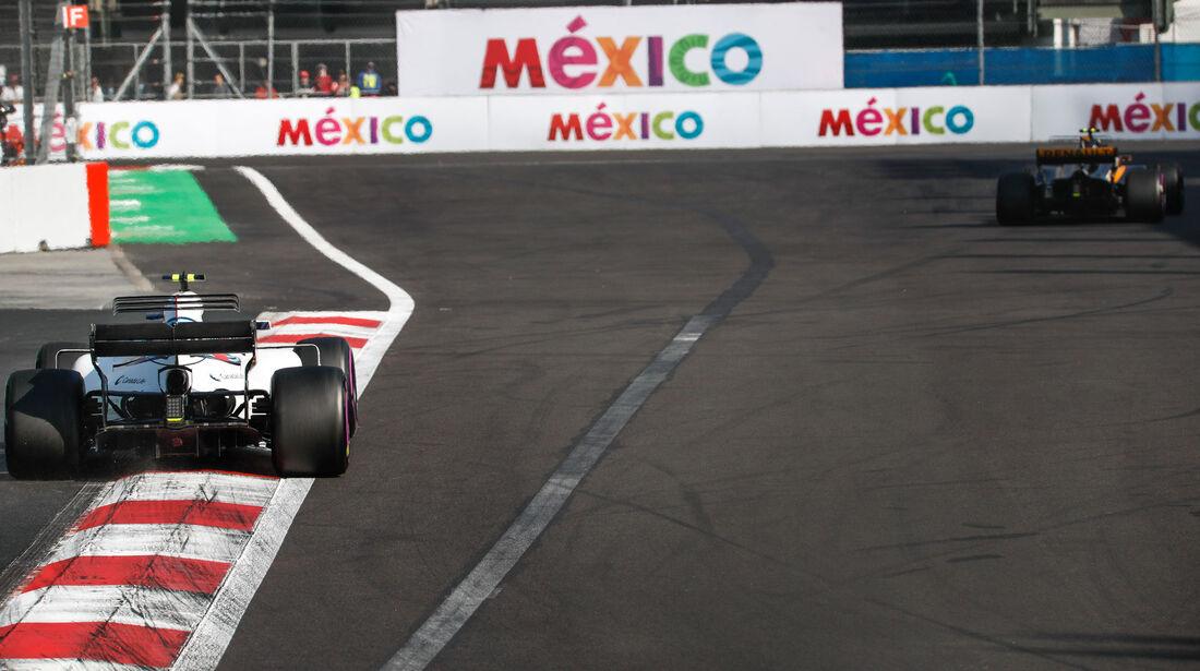 Lance Stroll - Williams - GP Mexiko 2017 - Qualifying