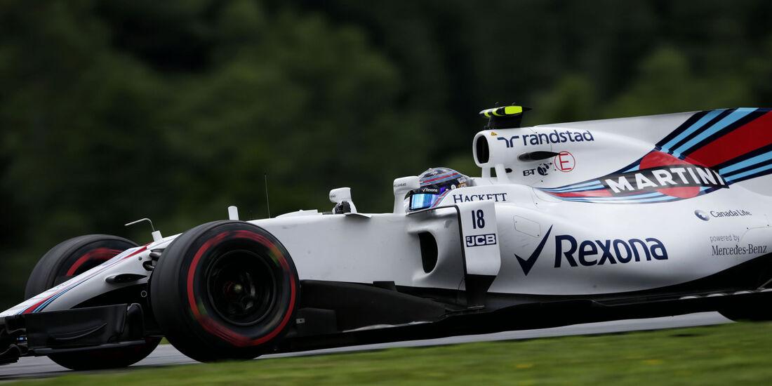 Lance Stroll - Williams - GP Österreich - Spielberg - Formel 1 - Freitag - 7.7.2017