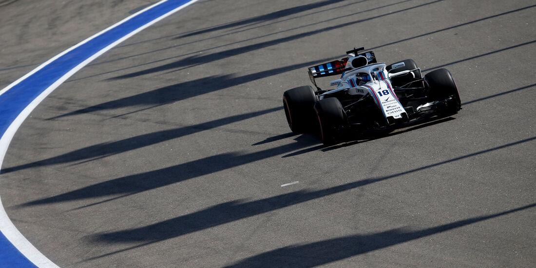 Lance Stroll - Williams - GP Russland 2018