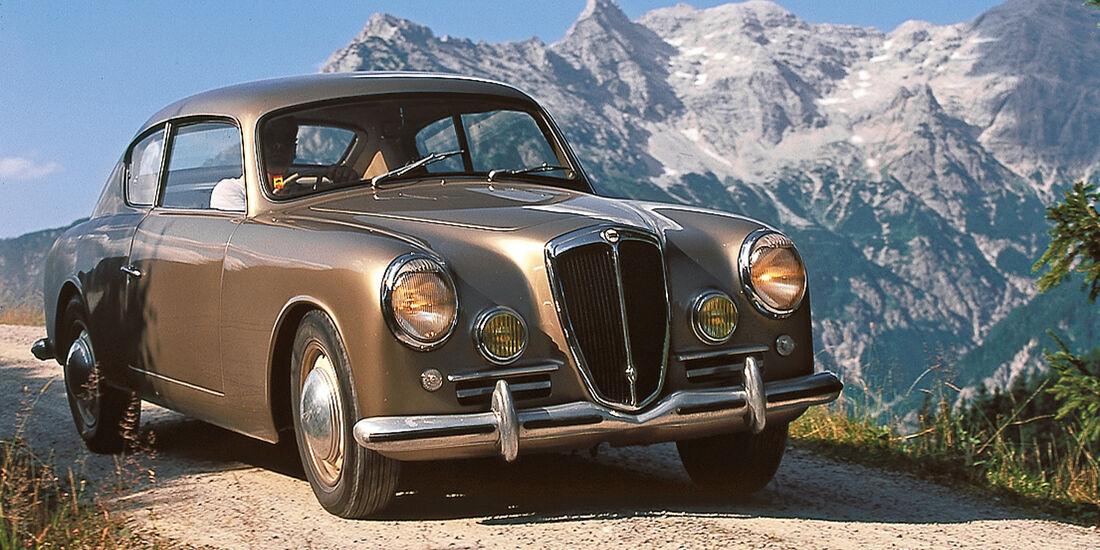 Lancia Aurelia GT, Frontansicht