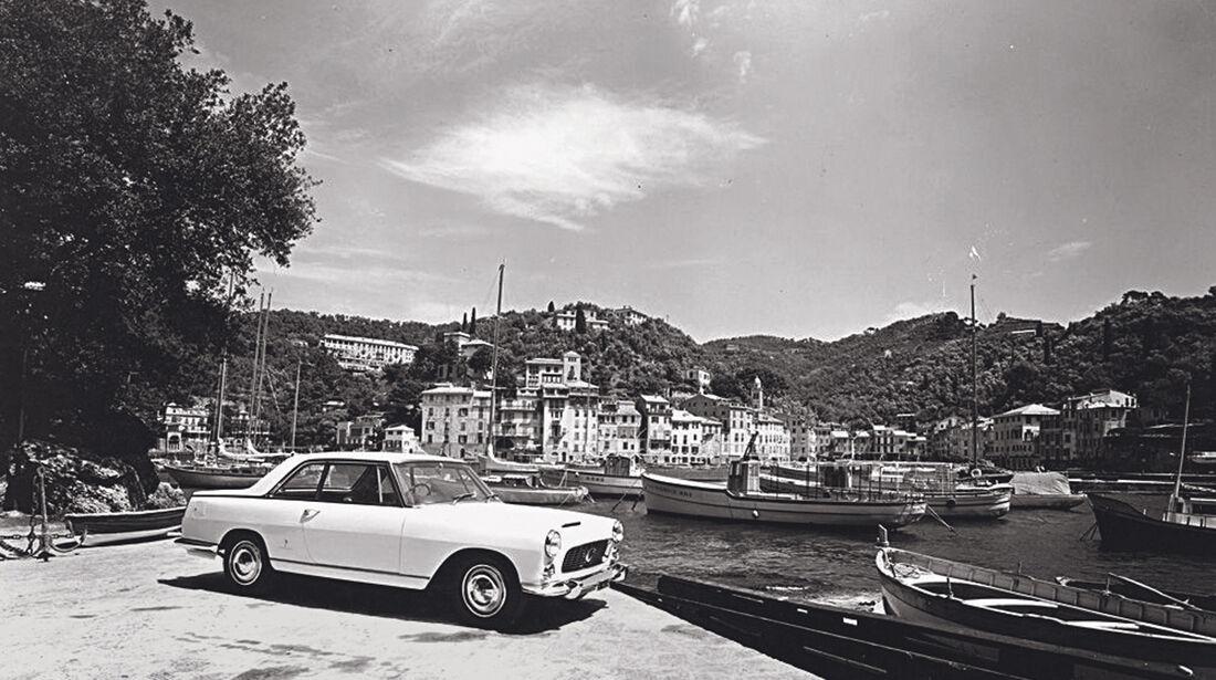 Lancia Flamina Coupé, Seitenansicht