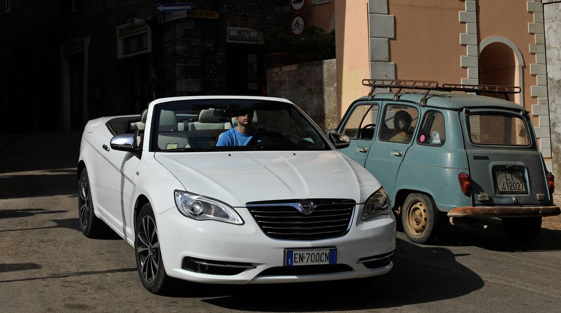 Lancia Flavia, Frontansicht