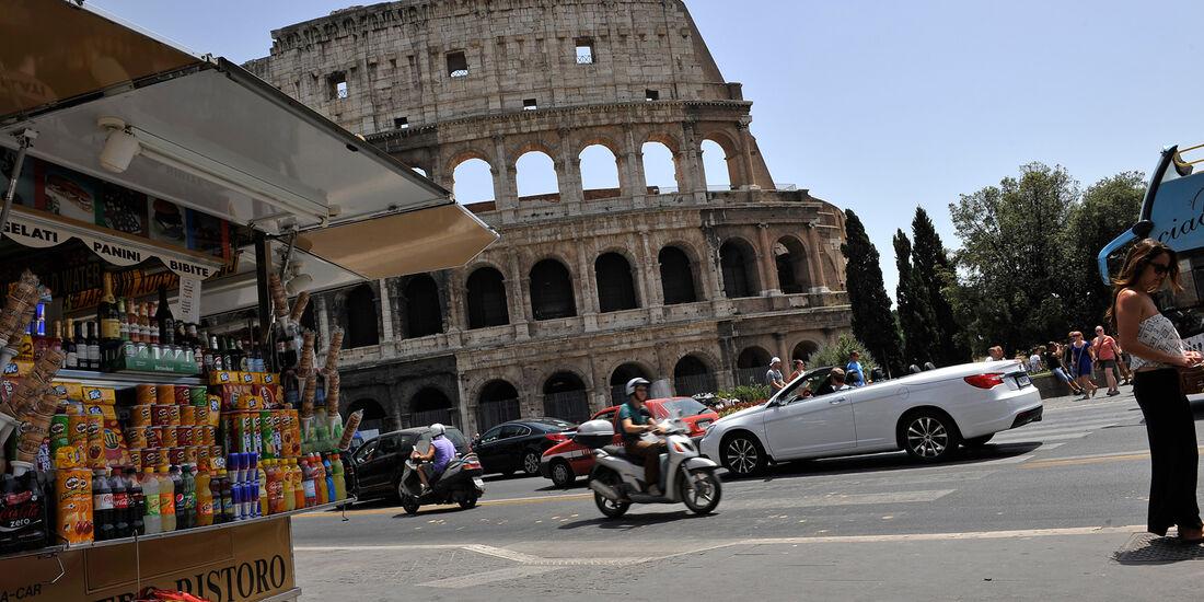 Lancia Flavia, Kolosseum