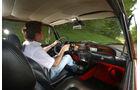 Lancia Fulvia Coupé, Cockpit, Fahrersicht