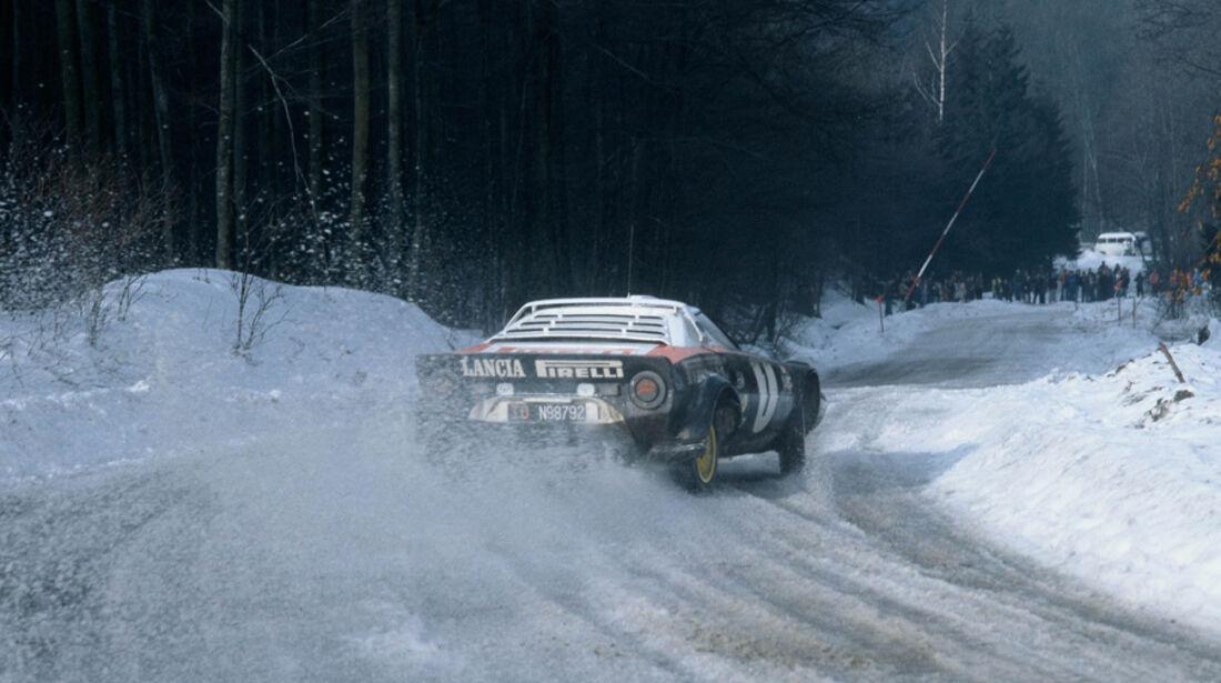 Lancia Stratos - Rallye Monte Carlo