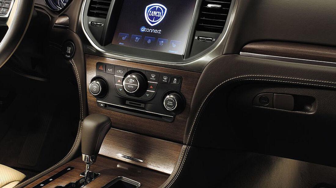 Lancia Thema, Innenraum