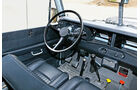 Land Rover 109 Diesel S III, Cockpit