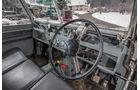 Land Rover Cuthbertson, Cockpit, Lenkrad