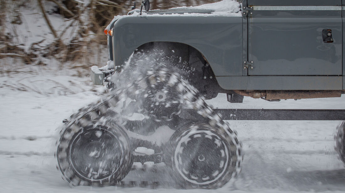 Land Rover Cuthbertson, Kettenantrieb