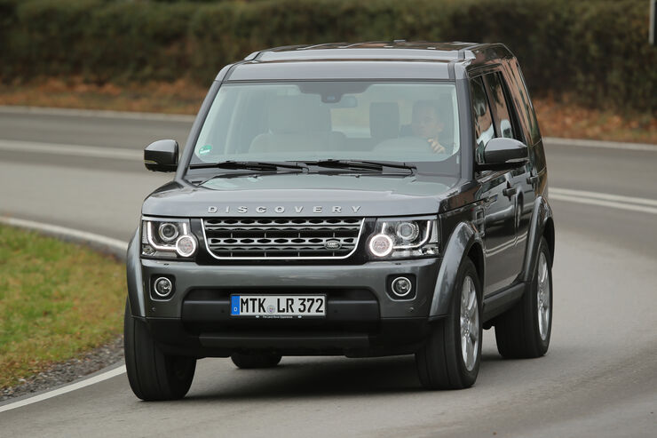 land rover discovery tests auto motor und sport. Black Bedroom Furniture Sets. Home Design Ideas