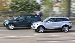Land Rover Discovery Sport, Range Rover Evoque, Exterieur