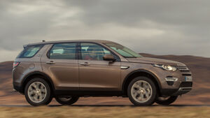 Land Rover Discovery Sport, Seitenansicht