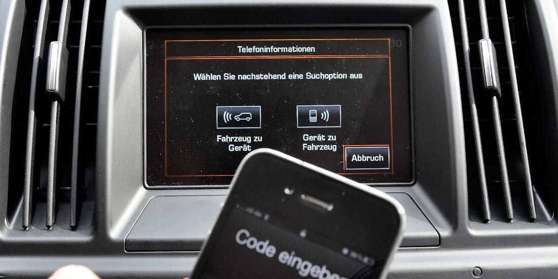 Land Rover Freelander 2.2 TD4, Infotainmentsystem, Bluetooth