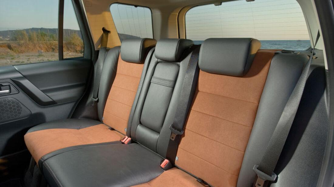 Land Rover Freelander 2, Innenraum, Fond, Rückbank