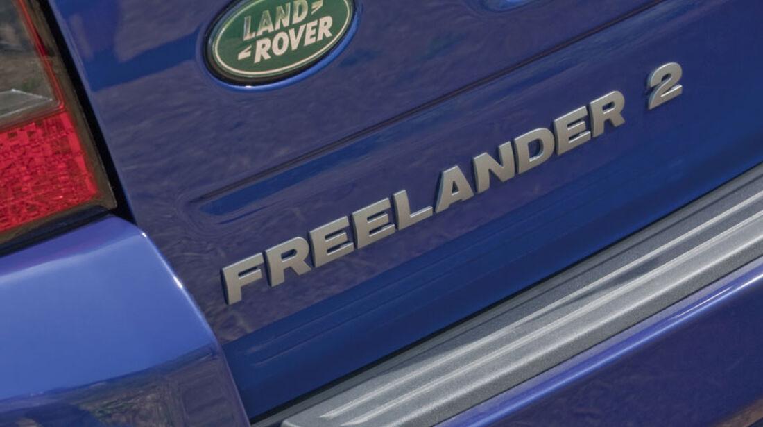 Land Rover Freelander 2, Modellbezeichnung